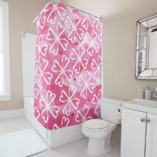 Valentinsgruß-Herz-Duschvorhang Duschvorhang
