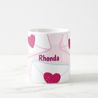 Valentinsgruß-Herzen Kaffeetasse