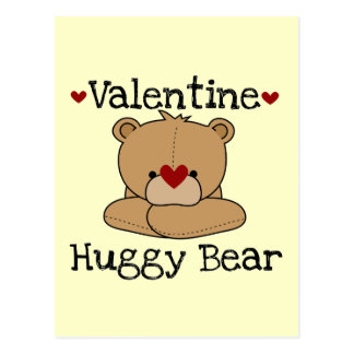 Valentinsgruß Huggy Bär Postkarte