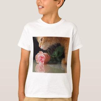 Valentinsgruß-Katze T-Shirt