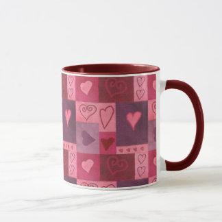 Valentinsgruß kopiert Kaffee Tasse