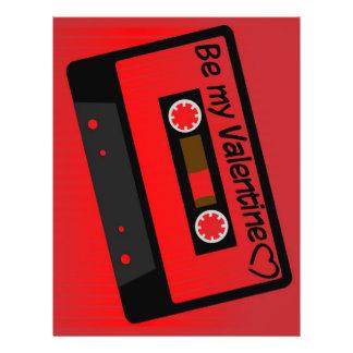 Valentinsgruß-Musik 21,6 X 27,9 Cm Flyer