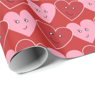 Valentinsgruß-Packpapier Geschenkpapier