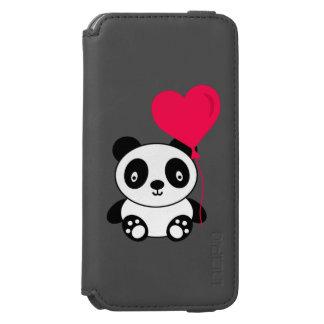 Valentinsgruß-Panda Incipio Watson™ iPhone 6 Geldbörsen Hülle
