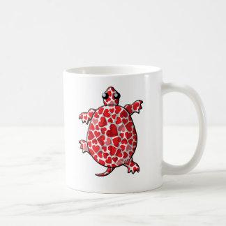 Valentinsgruß-Schildkröten Kaffeetasse
