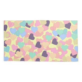 Valentinsgrußherzen Kissen Bezug