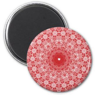 Valentinstag-altmodischer Entwurfs-Magnet Runder Magnet 5,7 Cm