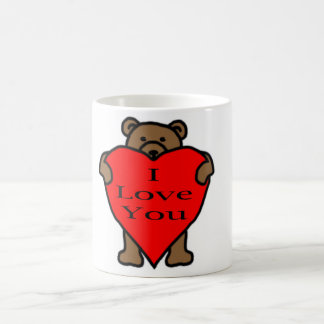 Valentinstag-Bär Kaffeetasse