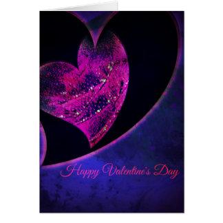 Valentinstag-Herzen Karte