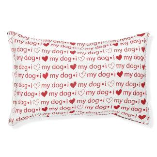 Valentinstag-Hundebett Haustierbett