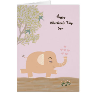 Valentinstag-Karte für jungen Sohn Karte