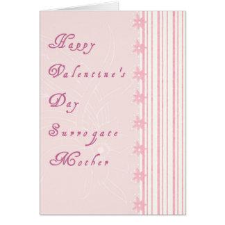 Valentinstag-Karte für Leihmutter Karte