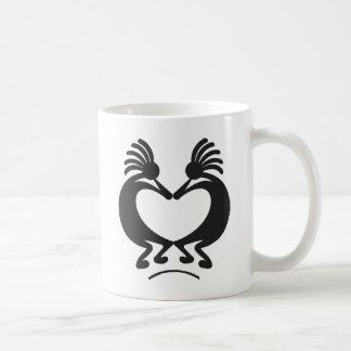 Valentinstag Kokopelli Kaffeetasse