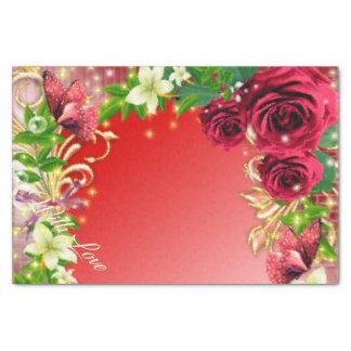 Valentinstag-Serviette Seidenpapier