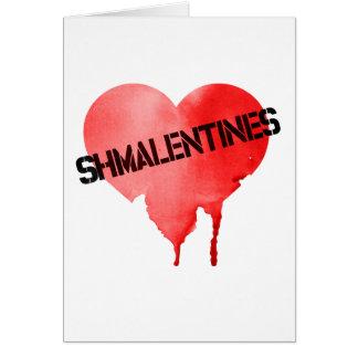 Valentinstag Shmalentines Tag Karte