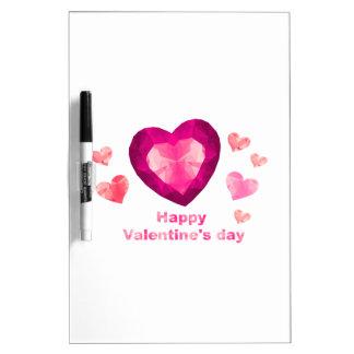 Valentinstag Trocken-Löschen Whiteboards