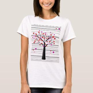 Valentinstagbaum T-Shirt