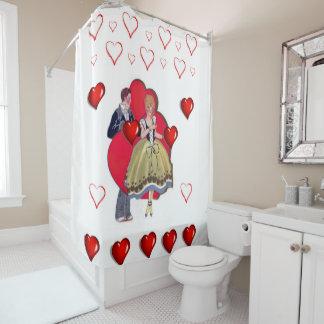 ValentinstagDuschvorhang Duschvorhang