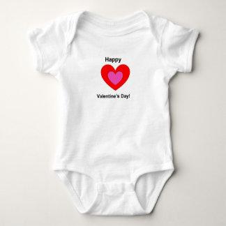 Valentinstagmädchen onsie baby strampler
