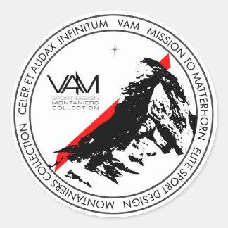 VAM: Aufkleber Matterhorns Montaniers Zermatt
