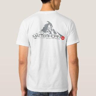 VAM : Pièce en t de Zermatt de Suisse de Tee-shirt