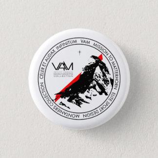 VAM: Schweizer-Knopf Matterhorns Zermatt Runder Button 2,5 Cm