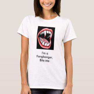 vamp1-14, bin ich ein Fangbanger, beiße mich T-Shirt
