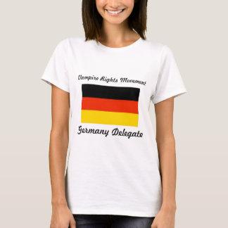 Vampir berichtigt Bewegung - Deutschland T-Shirt