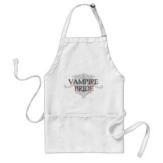 Vampire-Braut-Schürze Schürze