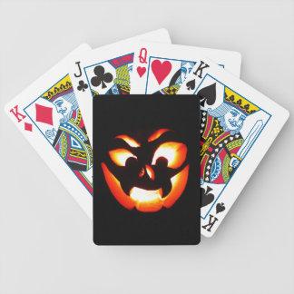 Vampire-Kürbislaterne Bicycle Spielkarten