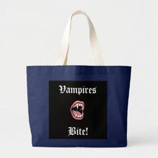 Vampirs-Biss! Jumbo Stoffbeutel