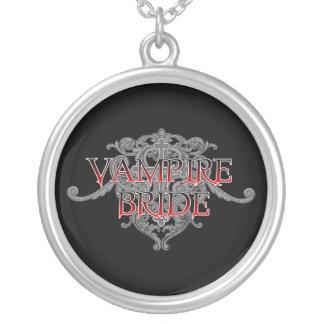 Vampirs-Braut-Halskette Versilberte Kette