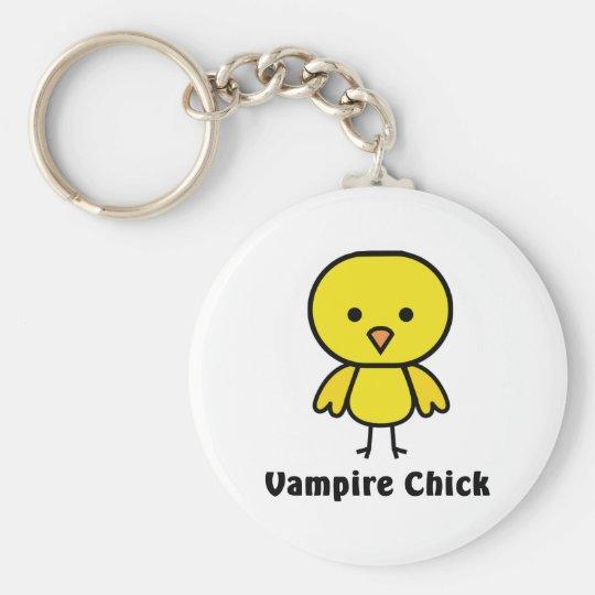Vampirs-Küken Standard Runder Schlüsselanhänger