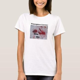 Vampirs-Liebhaber, beißen      mich T-Shirt
