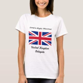 Vampirs-Rechte - Großbritannien T-Shirt
