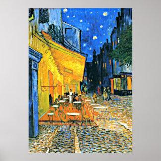Van Gogh - Café-Terrasse Poster