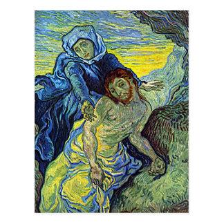 "Van Gogh ""der Pieta-"" Postkarte"