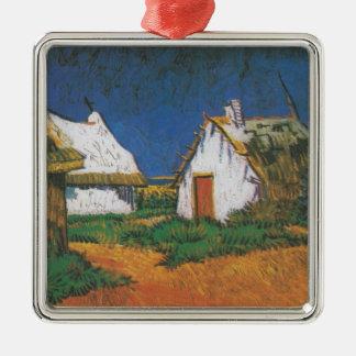 Van_Gogh_-_Drei_weiße_Hütten_in_Saintes-Maries Silbernes Ornament