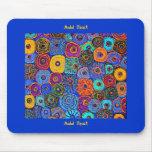 Van Gogh fleurit Mousepad 2 Tapis De Souris