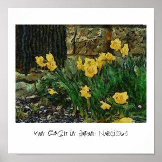 Van Gogh in Japan: Narzisse Poster
