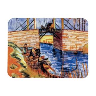 Van Gogh - le pont de Langlois chez Arles Magnets