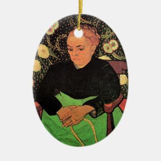 Van Gogh; Madame Roulin Rocking die Wiege Keramik Ornament
