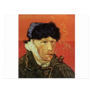 Van Gogh - Mann mit Rohr Postkarte