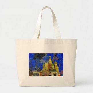 Van Gogh Moskau Jumbo Stoffbeutel