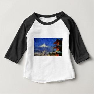 Van Gogh Mt-Fuji-Japan Baby T-shirt