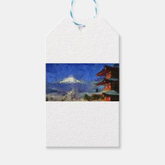 Van Gogh Mt-Fuji-Japan Geschenkanhänger