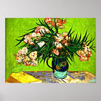 Van Gogh - Oleander und Bücher Poster