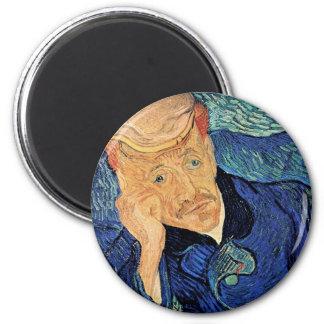 Van Gogh - portrait de docteur Gachet Aimants