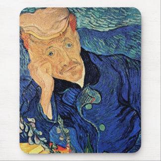 Van Gogh - portrait de docteur Gachet Tapis De Souris