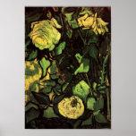 Van Gogh - roses et scarabée Posters